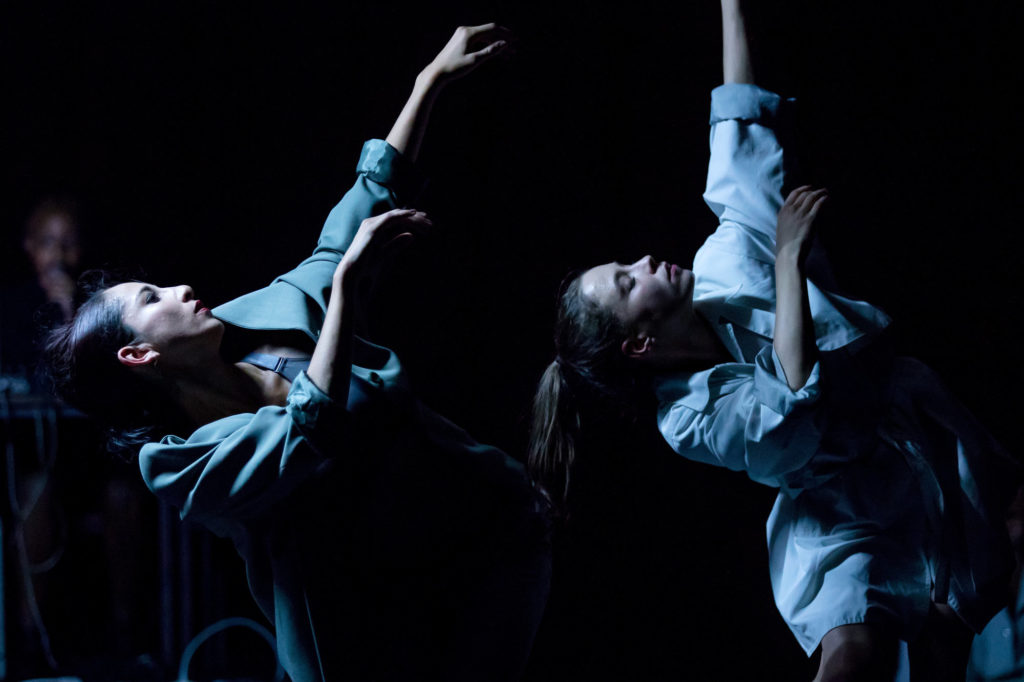 """Leipziger Ballett in der Spinnerei Leipzig/Halle 14""""Intershop"""" / Theaterfotografie / Foto Tom Schulze"""